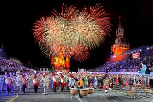 Military Brass band Festival 'Spasskaya Tower