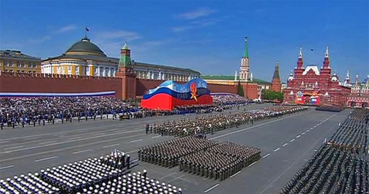 May day parade on Red Square