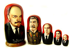 Soviet leaders matryoshka