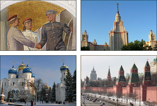 Customised tour of Moscow