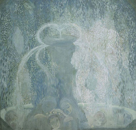 Blue Fountain, 1905