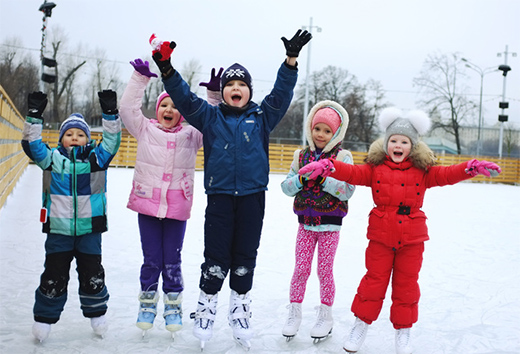 Children's Ice Rink in Gorky Park