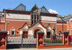 Tretyakov gallery. Old building