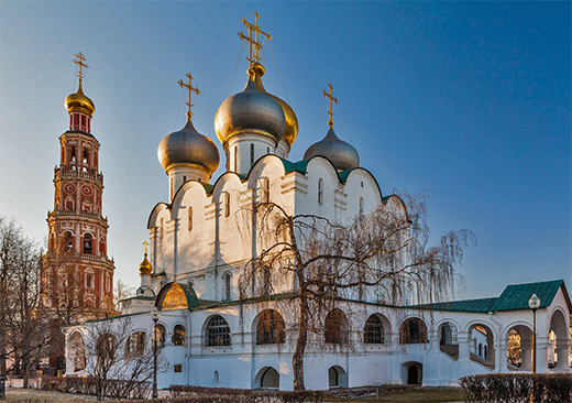 The cathedral of Smolensk Mother of God and the Belltower