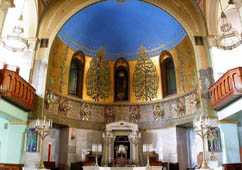 Moscow Choral Synagogue. Interior