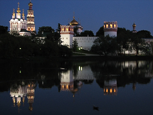 Panoramic view of Novodevichy convent