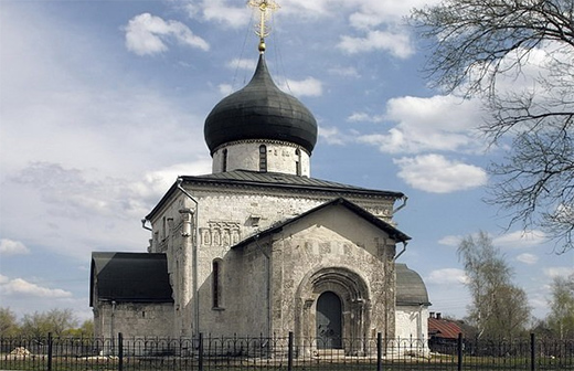 The church of St. GeorgeYuryev-Polskoy in