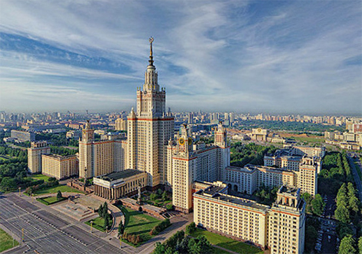 Moscow State University visit