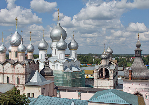 1 Day: Yaroslavl and Rostov by train