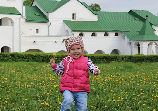 2 Days/1 night: Vladimir and Suzdal with children by train