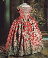 Catherine I's coronation dress