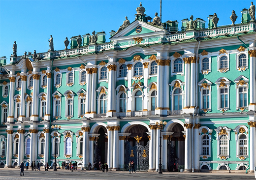 Half-day tours of St Petersburg