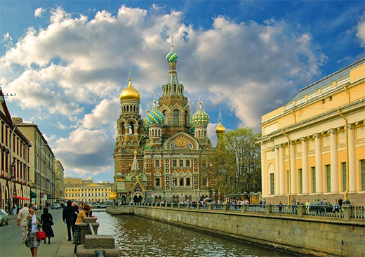 One day tour of St Petersburg