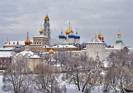 The Trinity Monastery of St. Sergius