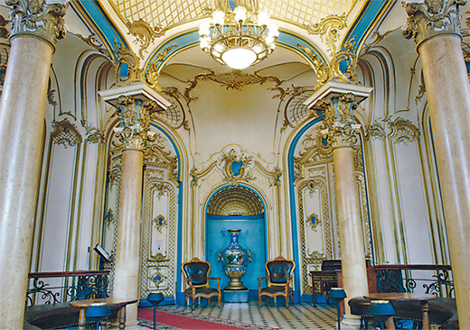 Sandunovsky bath house tour