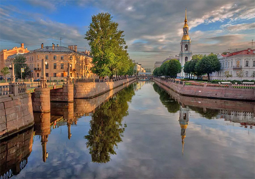 Five day tour of Saint Petersburg