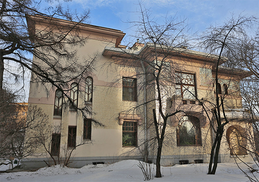Gorky house-museum/Ryabushinsky mansion in Moscow