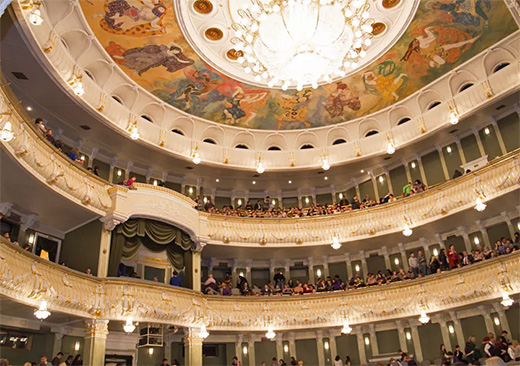 The New stage of the Bolshoi Theatre in Moscow