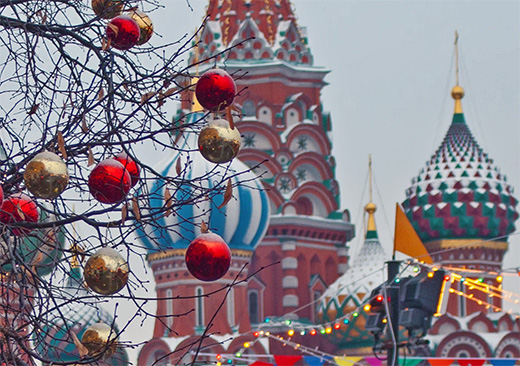 Nine things to do in Moscow at Christmas