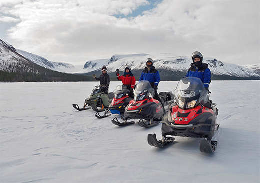 Snomobile Trip to Seydozero Lake
