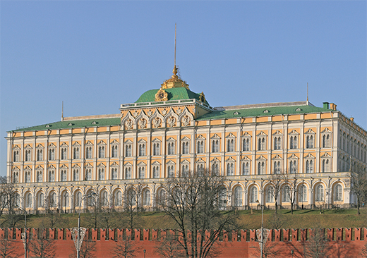 The Grand Kremlin Palace in Moscow Kremlin