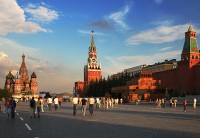 Red Square Moscow, 21st century