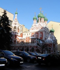 The Trinity Church in Nikitniki, Moscow, 2010