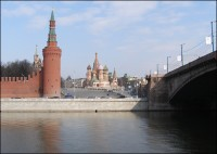 The view on the Kremlin, Moscow, 2010