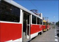 Moscow tram, Moscow, 2010