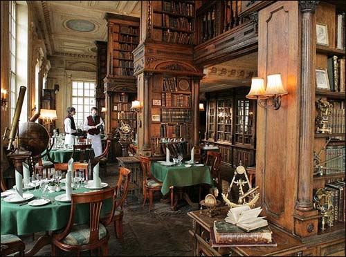 restaurant Pushkin, Library hall