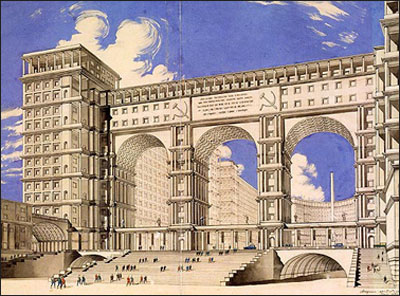 Narkomtazhprom, Red Square, 1934, architect  I.A. Fomin