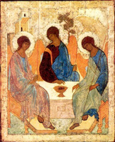 Andrey Rublev. The Trinity