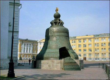 Tsar Bell, Moscow, 2010