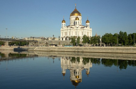 Christ the Svior Cathedral, Moscow, 2009
