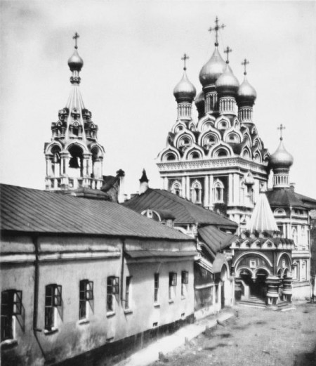 The Trinity Church in Nikitniki, Moscow, 1881