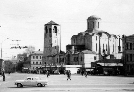The church of Saint Nicholas, Moscow, 1974