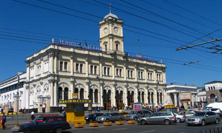 Leningradsky train station