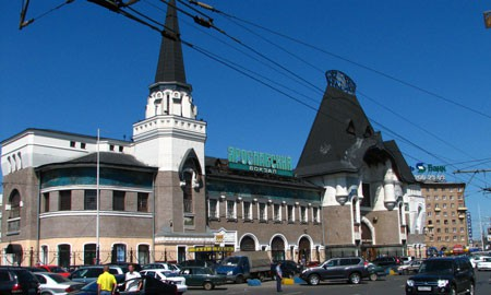 Yaroslavsky train station, photograph, 2010