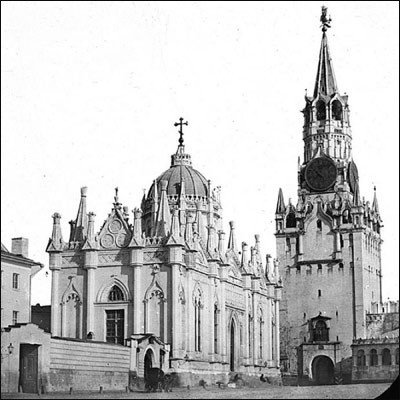 Ascention convent, Moscow 1890-1900