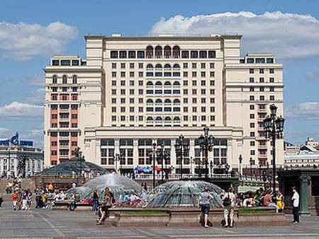 The Moskva Hotel, photographed in 2010