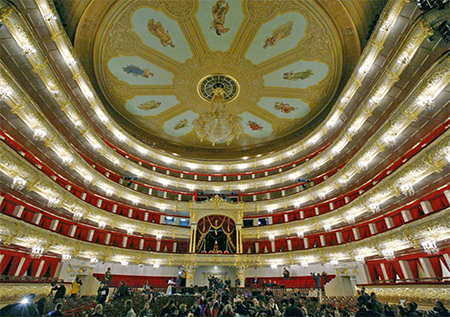 Bolshoi backstage tour
