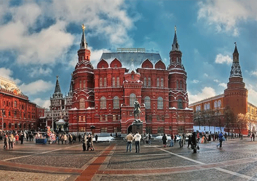 Walking tour of Moscow