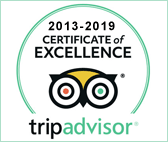 TripAdvisor Certificate of Excellence 2013–2020